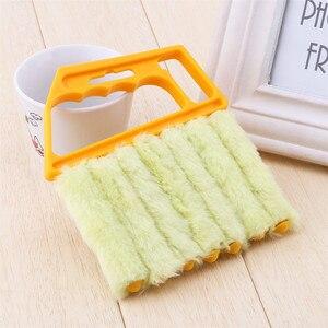 Image 4 - منظف ناعم ستارة فينيسية منظف مكيف هواء منفضة تنظيف فرشاة غسل مُنظف نوافذ أدوات تنظيف منزلية