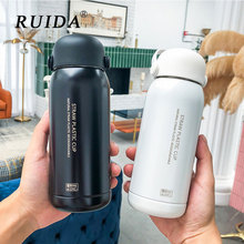 Cute Thermos 304 Stainless Steel Vacuum Flask Outdoor Portable Kids Water Bottle Coffee Tea Mugs Sport Travel Insulation Bottles