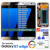 S7 edge LCD Display Screen Replacement for Samsung Galaxy G935 G935F LCD Screen Pantalla without burn shadow