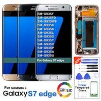 S7 edge Original LCD Display Screen Replacement for Samsung Galaxy G935 G935F LCD Screen Pantalla Original New Tested