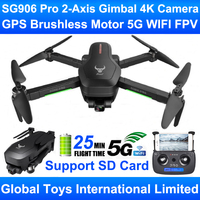 ZLRC Beast SG906 Pro Brushless Motor GPS 5G WIFI FPV 2 Axis Gimbal Professional 4K HD Camera RC Drone Quadcopter Support SD Card