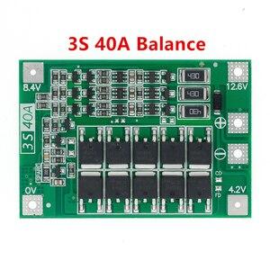Image 3 - 3S/4S 40A 60A 리튬 이온 리튬 배터리 충전기 보호 보드 18650 BMS 드릴 모터 11.1V 12.6V/14.8V 16.8V 향상/균형