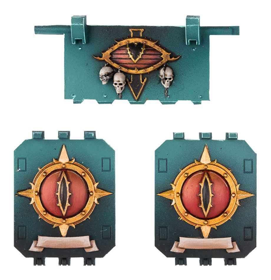 Figli di Horus Porte Land Raider Set 2