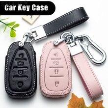 עור רכב מפתח מקרה אוטומטי מפתח הגנת כיסוי עבור שברולט חדש מליבו XL אקווינוקס רכב מחזיק מעטפת מכונית סטיילינג אבזרים