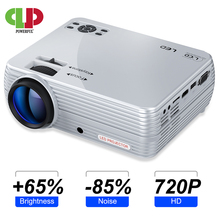 POWERFUL Mini Projector X5+ 1280*720P 2800 Lumens 1080P Support 3D Portable Beamer Connect via USB port HDMI VGA with TV box PS4