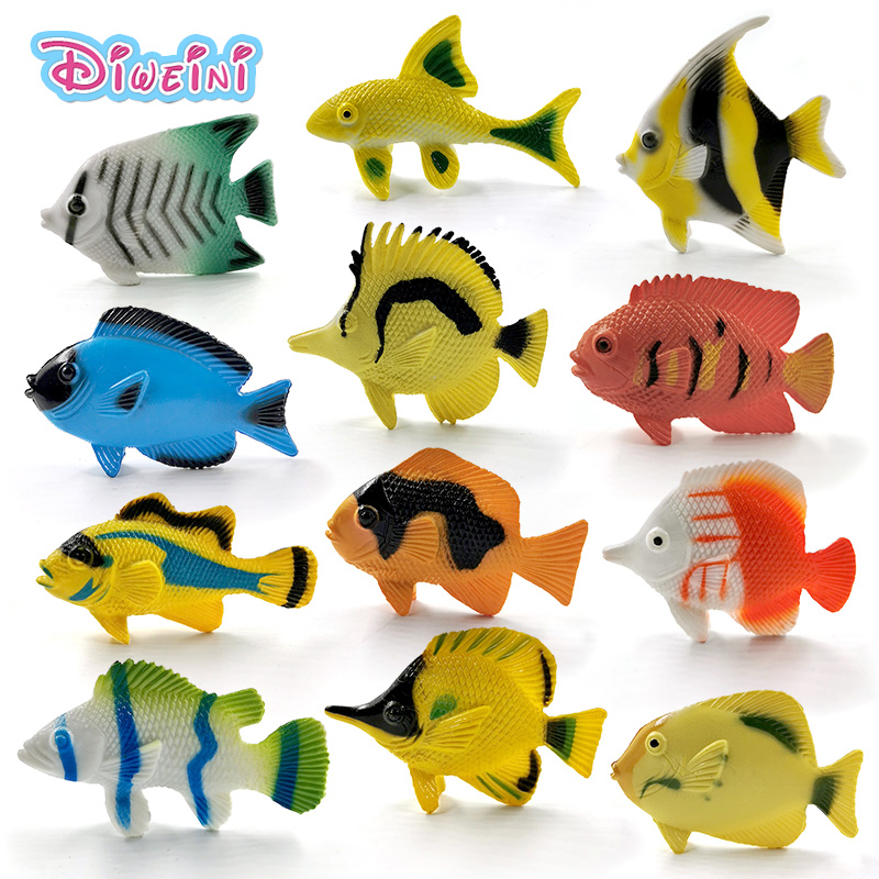 Simulated Fake Fish Model Lifelike Sturgeon Fish Model Artificial Toy for Home