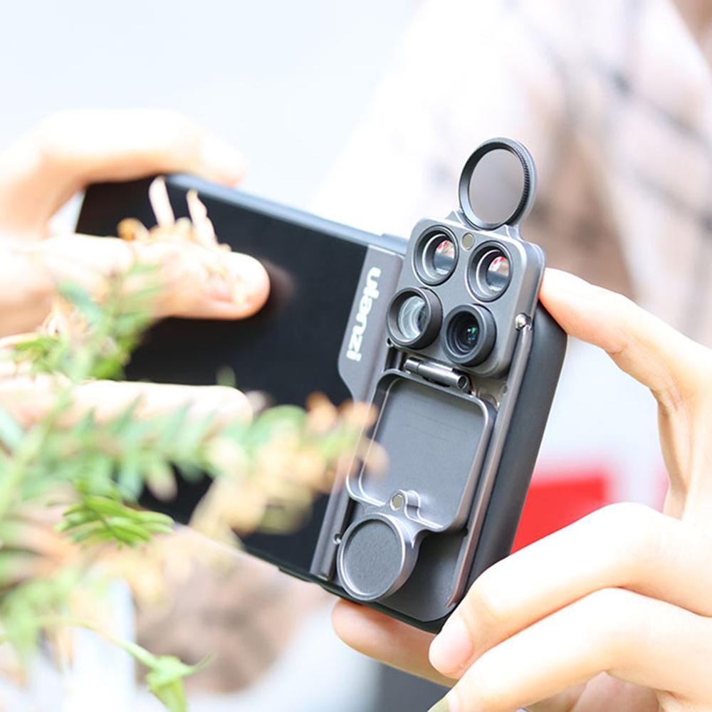 Image 3 - Ulanzi 5 in 1 Phone Lens Case Kit 20X Super Macro Lens CPL  Fisheye Telephoto Lens for iPhone 11 Pro Max Pixel 4 4XLMobile Phone  Lens