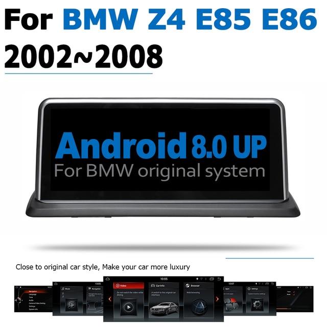 Android 8.0 2 + 32 samochodowy odtwarzacz dvd odtwarzacz Navi dla BMW Z4 E85 E86 2002 ~ 2008 audio stereo HD ekran dotykowy WiFi Bluetooth oryginalny styl