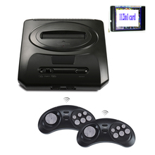 TOP 16BIT RETROAD HD SEGA MEGADRIVE2 MD2 TV VIDEO GAME CONSOLE WITH HDMI AV OUTPUT 2.4G WIRELESS CONTROLLER WITH GAMES