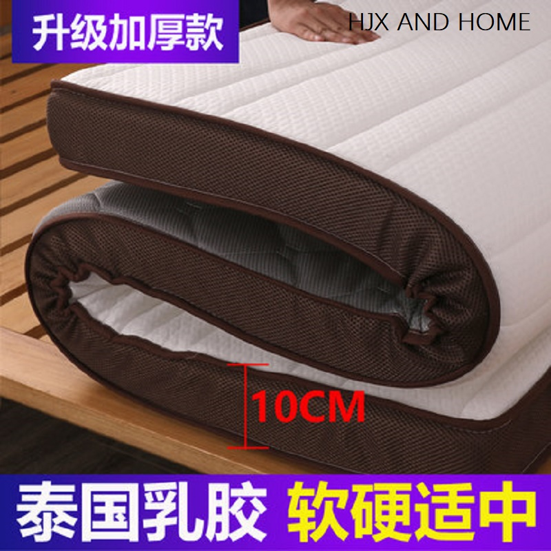 Luxury Natural Latex Mattress Memory Foam Filling 10cm And 6cm  Stereoscopic Breathable Comfortable Mattress