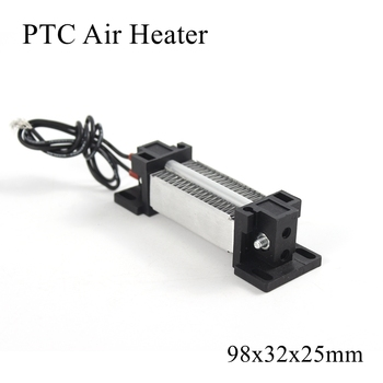 98x32x26mm 12V 220V 100W ogrzewacz PTC ceramiczny termistor ogrzewanie powietrza Mini grzejniki zewnętrzne indukcyjna woda akwariowa samochód Film płyta tanie i dobre opinie Patio grzejniki Elektryczne Zaopatrzony