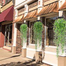2 unidades/pacote artificial pendurado guirlanda videira flor suporte plantas decoração de casamento casa frete grátis flor artificial