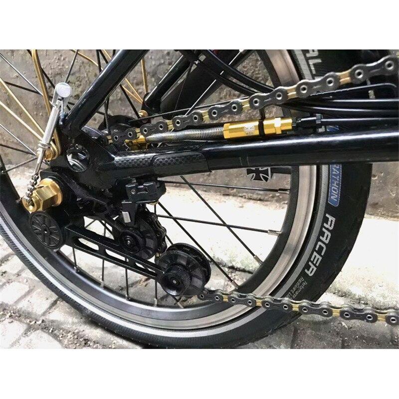 Сверхлегкий ЧПУ переключатель переключения тонкой регулировки линии переключения Рычаг обновления титановые винты для Brompton складной велосипед| |   | АлиЭкспресс