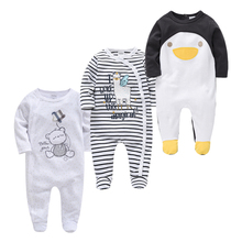 Summer Autumn Roupas bebe de Baby Girl Boy Pijamas bebe fille Cotton Breathable Soft ropa bebe Newborn Sleepers Baby Pjiamas