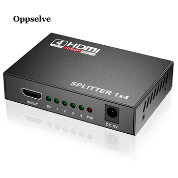1 in 4 Out HDMI Splitter 4K Switch KVM Bi-Direction 1x4/4x1 Adapter Switcher for PS4/3 TV Box HD