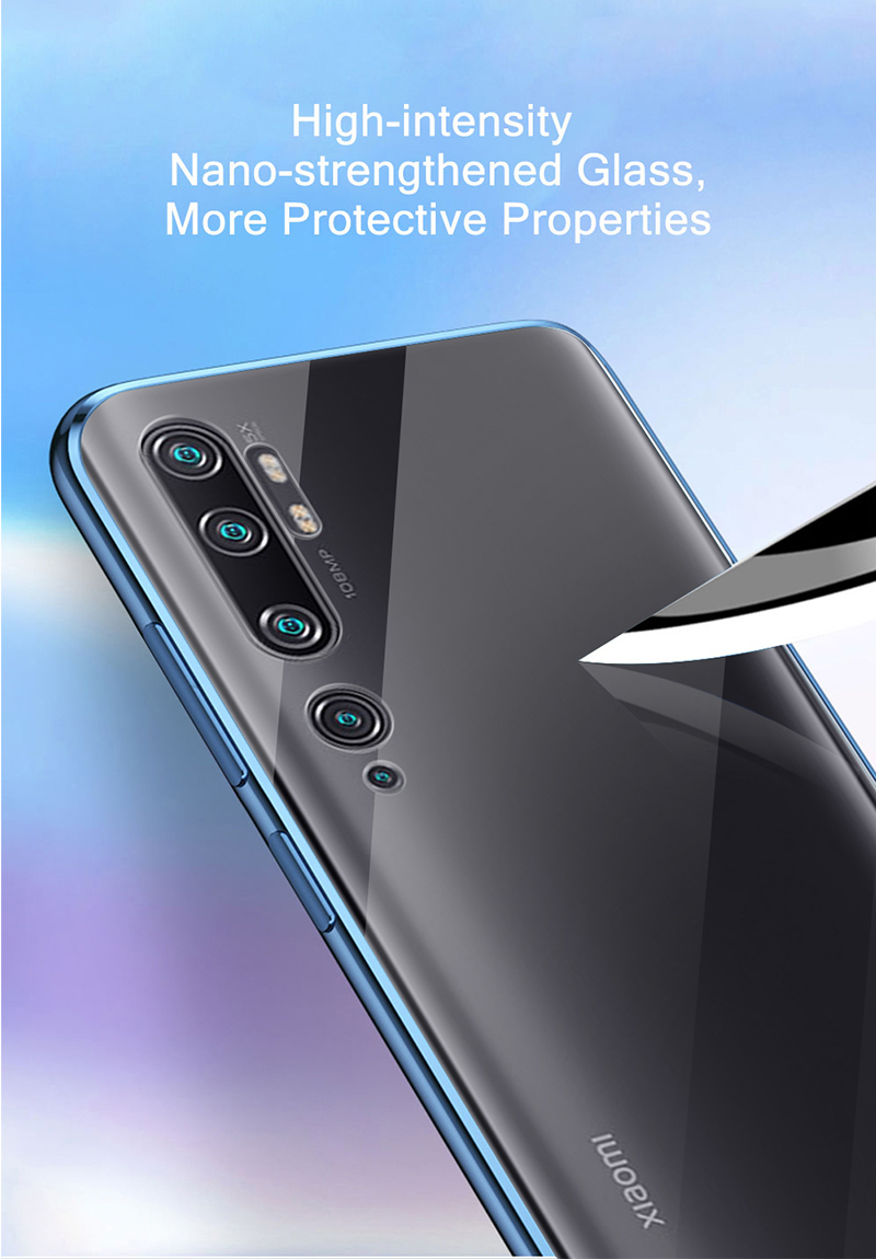 For Xiaomi Mi 10 Pro Magnetic Case 360 Front+Back double-sided 9H Tempered Glass Case for Xiaomi Note 10 Pro Metal Bumper Case