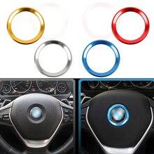 Автомобильные аксессуары рулевого колеса автомобиля центр украшения чехол пульт дистанционного управления для BMW 1 3 4 5 7 серия M3 M5 E81 E87 F30 34 F10...