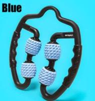 Blue - U-shaped trigger point massage roller