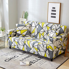 24colors Slipcover Stretch Four Season Sofa Covers Furniture Protector Polyester Loveseat Couch Cover L 1/2/3/4-seater