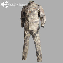 цена на Military Clothing Man Tactical Uniforms Army Airsoft Combat Suit Sets Camouflage Long Sleeve T-shirts + Pants