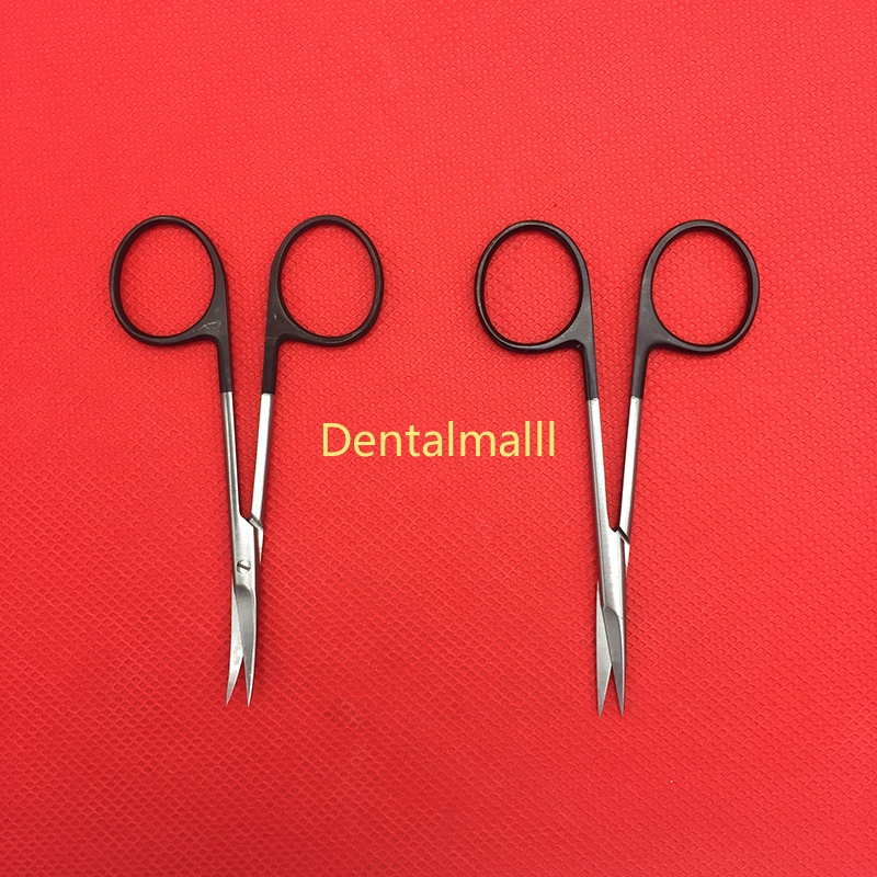 Dental Ophthalmic Surgery Scissors Stainless Steel  Cosmetic Plastic Surgery Double Eyelid Surgery Tools