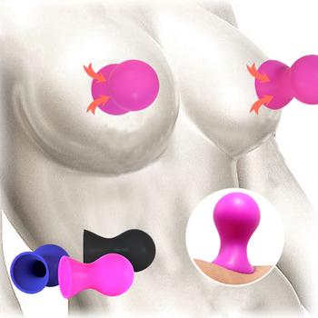 Pary sutek Sucker Sex Shop G Spot sutek pompa przyssawka masażer do piersi stymulator łechtaczki nie wibrator Sex zabawki dla kobiet tanie i dobre opinie Waterproof Same Sex Big Dildo Jelly Vagina Orgasm Couple Stockings Magic Wand AV Vibrator Sex Toys for Woman Clitoris Stimulator Sex Shop