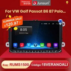 (КОД:RUMS1500 ) Junsun V1pro 2G + 32G DSP Android10.0 Автомобильный мультимедийный плеер радио GPS для поло седан Volkswagen VW Passat B6 Touran GOLF5 POLO jetta 2 din DVD