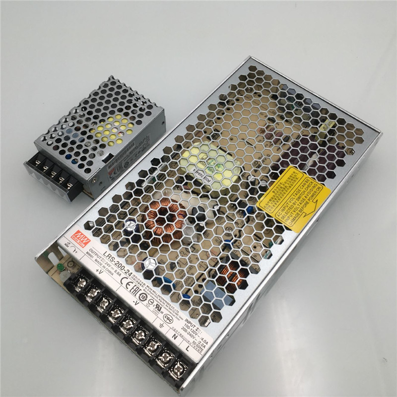 Funssor Voron 2.4 3D printer Original Meanwell power supply kit  Mean Well RS-25-5 PSU LRS-200-24 PSU