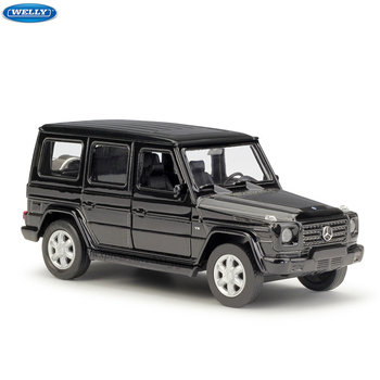 цена на WELLY 1:36 Mercedes-Benz G-Class alloy car model machine Simulation Collection toy pull-back vehicle Gift collection