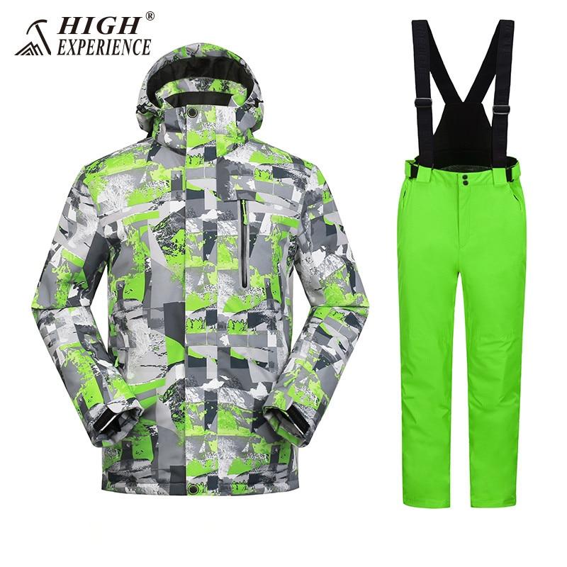 Winter Suit Ski Jacket Ski Suit Men Winter Jacket Men Snowboard Jacket Skiing Sport Suit Snowboard Suit Male Snowboarding Sets