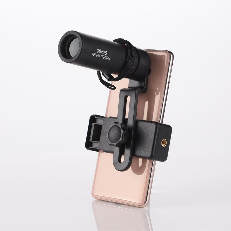 8 Times Mobile Phone 30X25  Peripheral Telescope Blue Tape High Power High-Definition Monocular Binoculars Portable Mobile