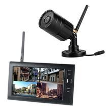 Yobang güvenlik 720P Video güvenlik DVR kaydedici kitleri 4CH Quad güvenlik gözetim kapalı devre kameralar sistemi (1 kamera kitleri seçeneği)