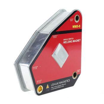 Support multi angle à interrupteur simple de WM5 S/pince de soudage magnétique forte marche/arrêt Matériel de soudage au gaz     -