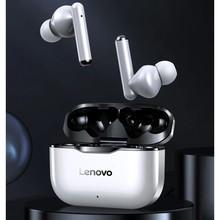 Nowy oryginalny Lenovo LP1 TWS bezprzewodowe słuchawki Bluetooth 5.0 podwójna redukcja szumów Stereo Bass sterowanie dotykowe długi tryb gotowości 300mAH