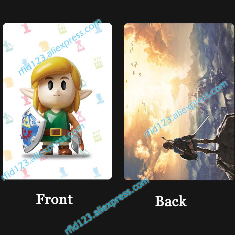New <font><b>Amiibo</b></font> Link's Awakening <font><b>amiibo</b></font> <font><b>Card</b></font> The Legend of <font><b>Zelda</b></font> image