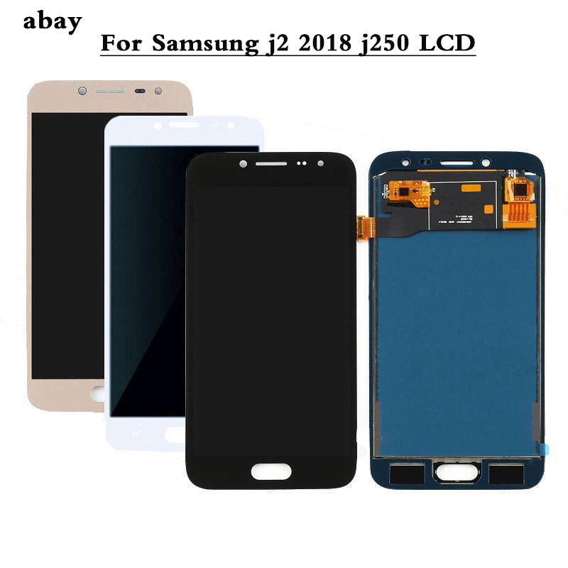 LCD Display For <font><b>Samsung</b></font> <font><b>Galaxy</b></font> <font><b>J2</b></font> Pro <font><b>2018</b></font> J250 <font><b>SM</b></font>-J250 Touch Screen Digitizer Assembly For <font><b>Samsung</b></font> j2Pro <font><b>J250F</b></font> LCD Display image