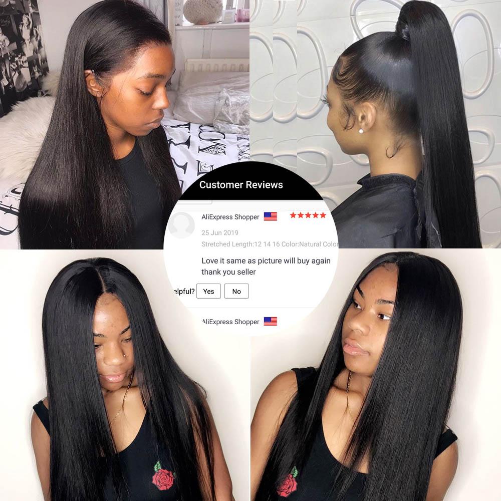 Straight Bundles Virgin Hair Bundles 40 Inch Long   Natural  Bundles  Bone Straight Hair 3
