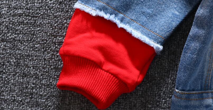 crianças splice outerwear roupas primavera outono com