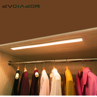 LED Under Cabinet Light 4 Mode Adjustable Led Battery Kitchen Light Motion Sensor Led Strip Bedroom Closet Night Light
