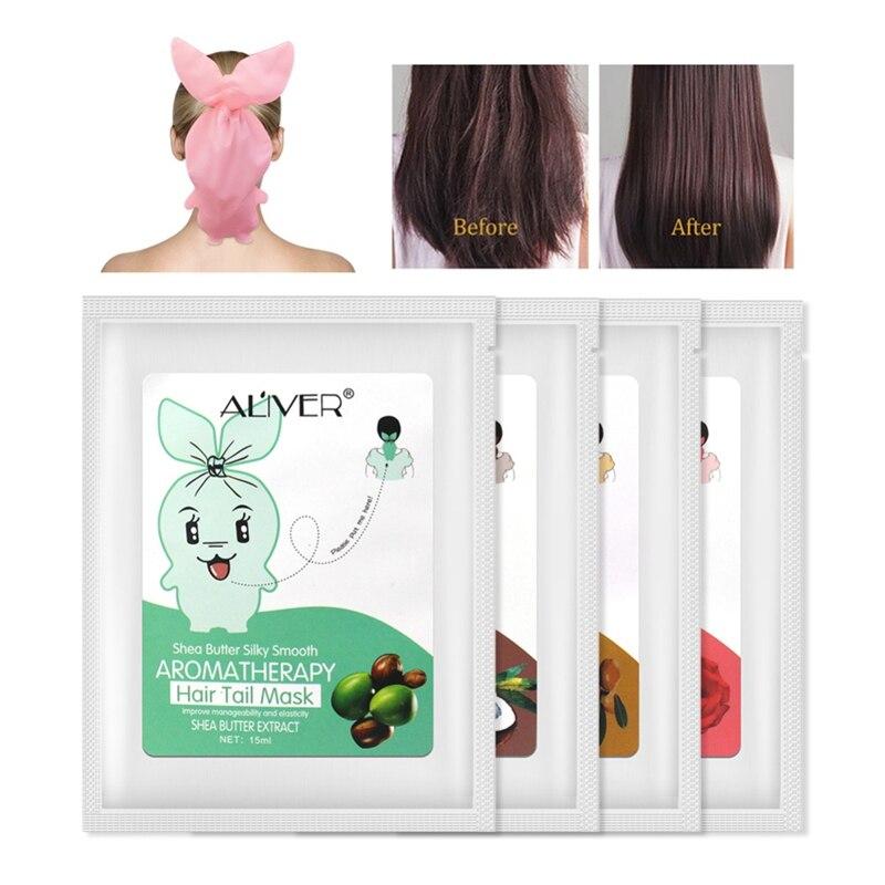 NEW Hair Mask Steam Free Wash Deep Nourishing Hair Care Essential Oils Repair Hair Tail Dryness Hair Fork Hair Care Product