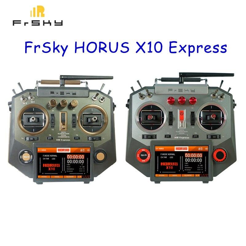 FrSky HORUS X10 Express 24CH accès ACCST D16 system2 transmetteur PARA système de formation sans fil transmetteur RC pour Drone RC Accs