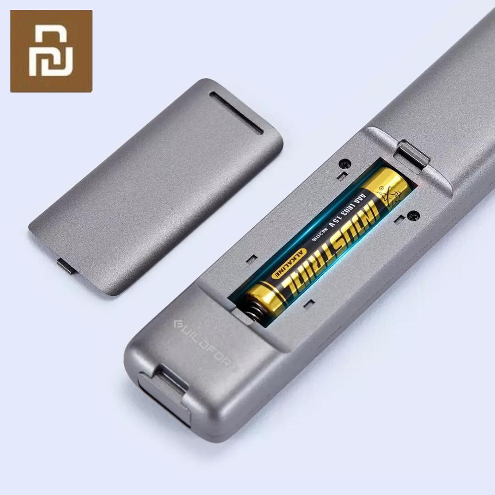 Youpin GUILDFORD Wireless Presenter Laser Flip Pen PPT Laser Page Pen Clicker Presentation Pen with USB Receiver (Black)