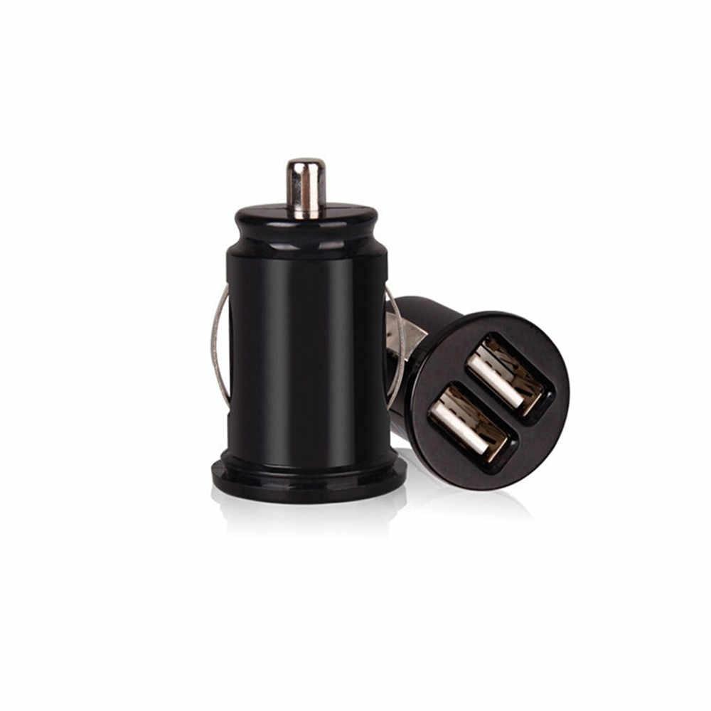 Kongyide 車の充電器ミニデュアル USB 車の充電器ユニバーサル 12V 携帯電話タブレット急速充電器 Usb 充電器 2 Usb アダプタ