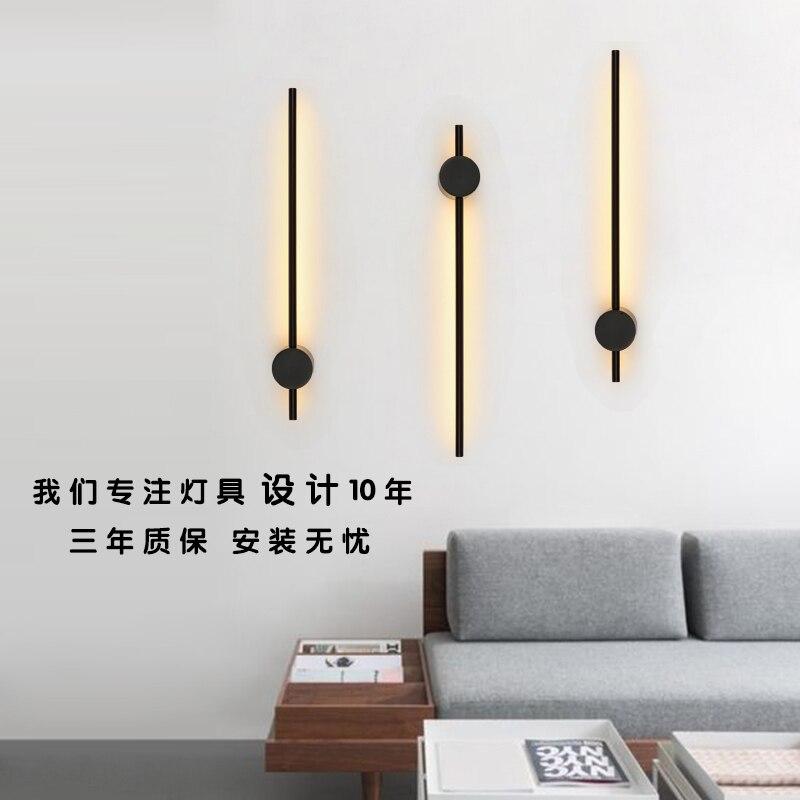 Лампа настоящего искусства и дизайна полоса прикроватная настенная лампа лаконичная оригинальность лестницы настенная светодиодная энергосберегающая лампа промышленный Декор