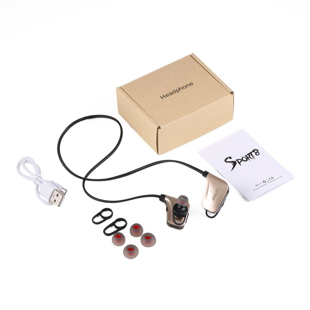 Wireless Headphone Bluetooth Earphone Magnetic Headset Neckband Sport Running Bluetooth Earphones For iPhone 7 X Xiaomi Earphone