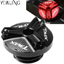 цена на Motorcycle M20*2.5 Engine Oil Filter Cup Cap Plug Cover Screw For YAMAHA T-MAX530 T-MAX500 TMAX 500 TMAX 530 SX/DX 2017-2018
