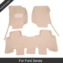 Car-Mats F150 Fiesta Mk7 Expedition Custom C-MAX Ford Focus Kuga-Transit Fusion Mk4 2/3-Mk3
