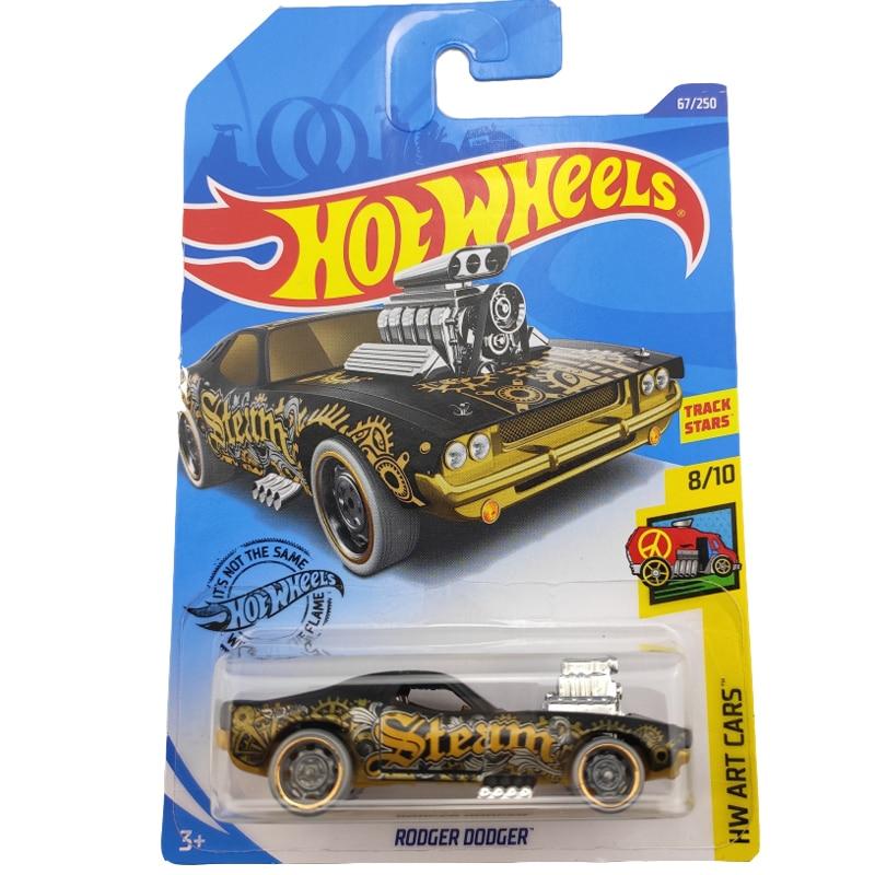2020-67 Hot Wheels 1:64 Car RODGER DODGER 2.0  Metal Diecast Model Car Kids Toys Gift