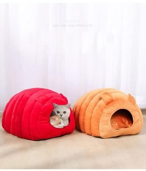 Cozy Puppy & Kitten Caterpillar Soft & Comfortable Kennel   1