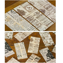 1 Pcs/lot Korean Creative Retro Newspaper Envelope  Gift Card Office Stationery Supplier